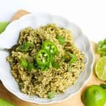 jalapeno cilantro lime brown rice