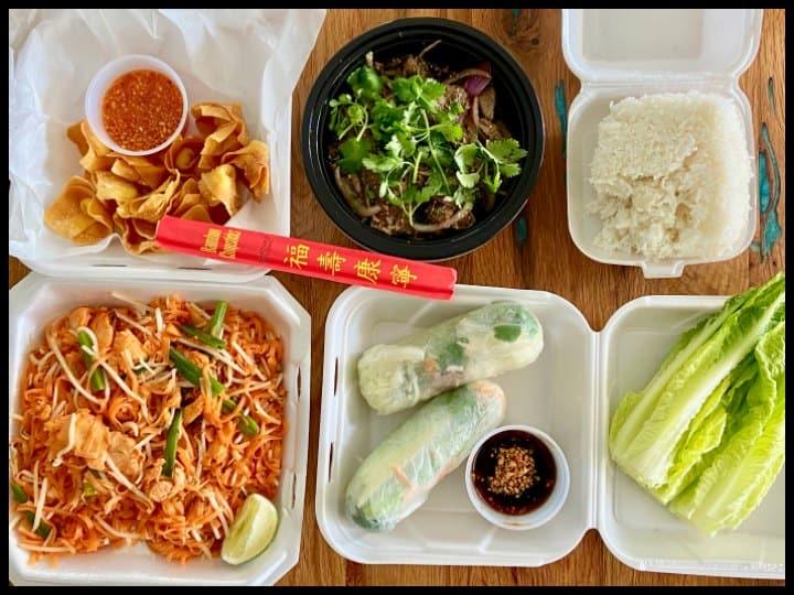 2 Rim Khong Restaurant Thai Food in Fayetteville, NC