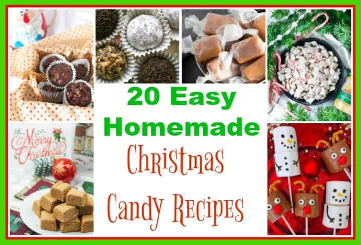 20 Christmas Candy Recipes