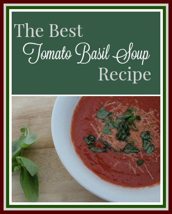 The Best Tomato Basil Soup Recipe