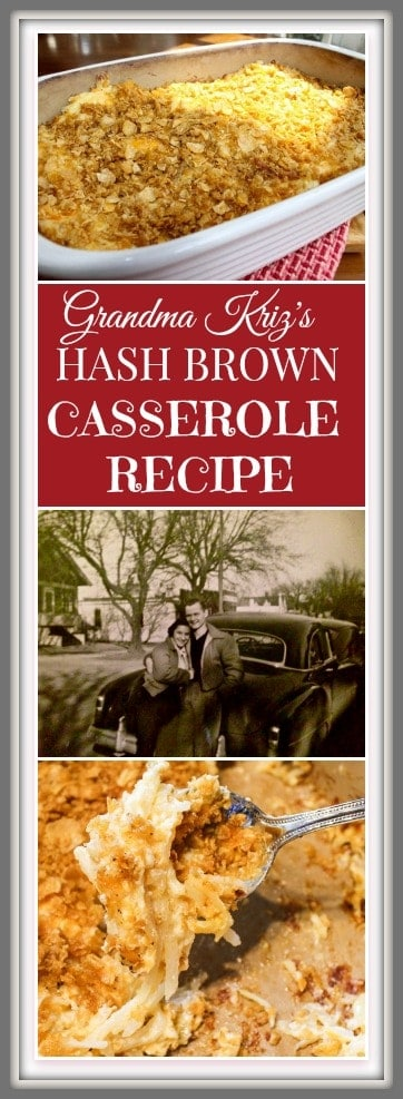 Grandma Kriz's Hash Brown Recipe