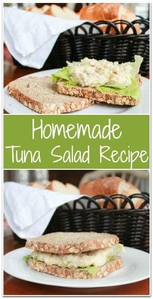 Homemade Tuna Salad Recipe