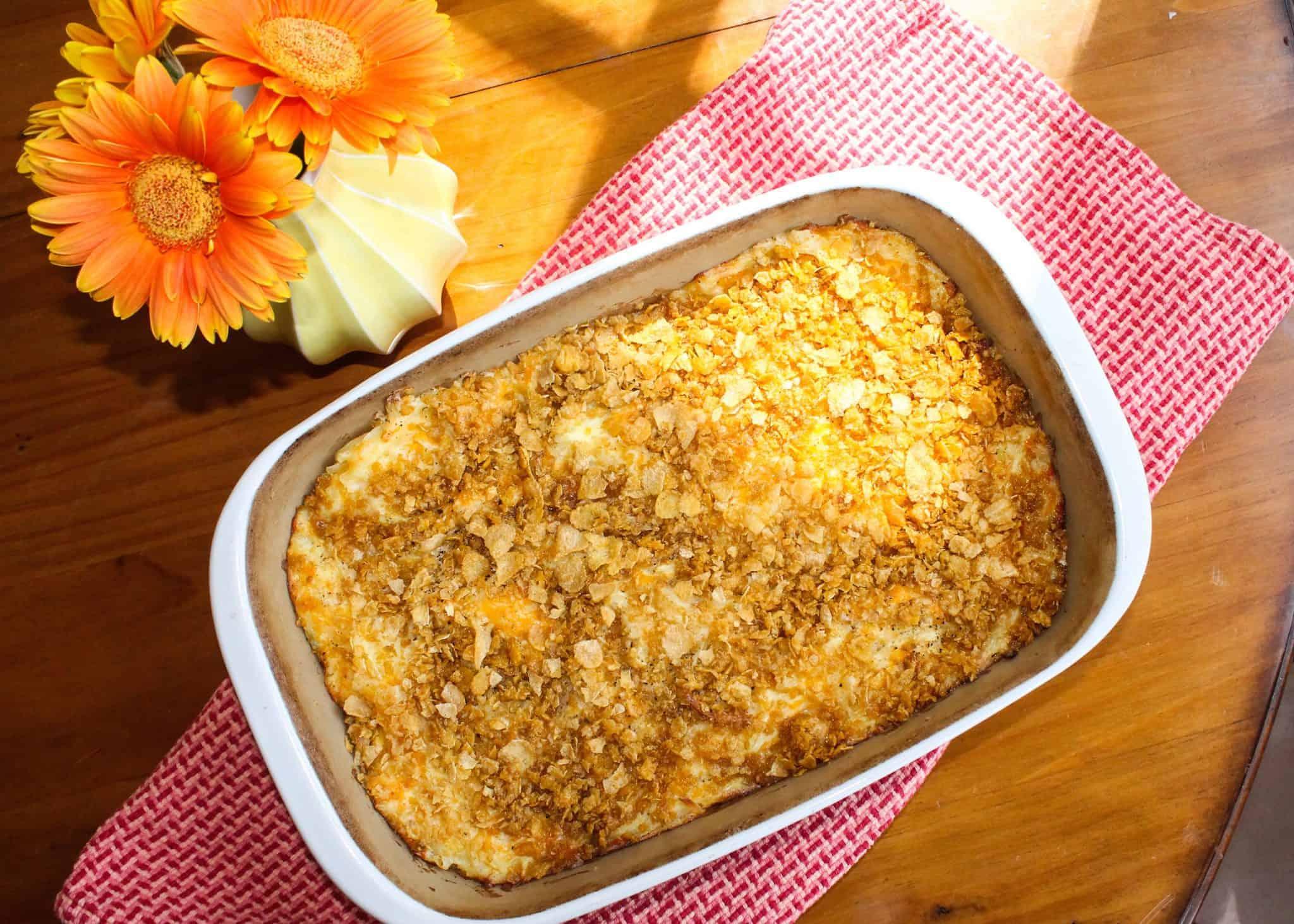 Grandma Kriz's Hash Brown Casserole Recipe