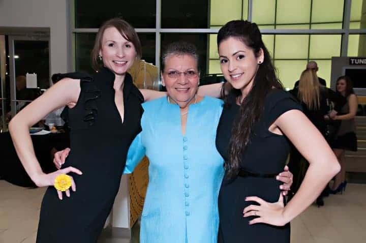Katie Crenshaw, Maria Alifonso, and Amanda Lopez