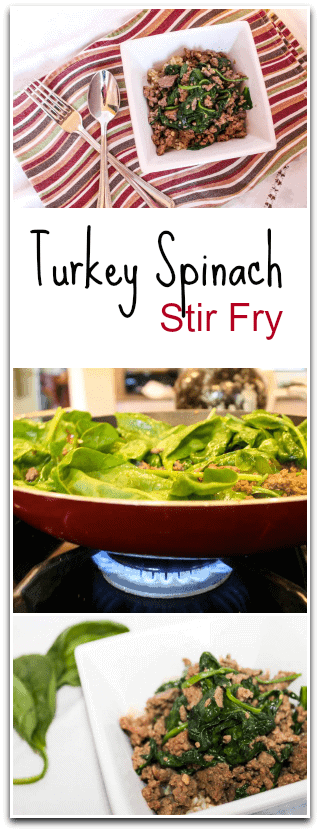 Turkey Spinach Stir Fry Recipe