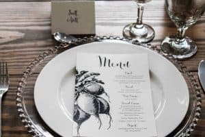 Scott Avett Table Setting