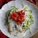 Low-Carb Creamy Brushetta Chicken Recipe
