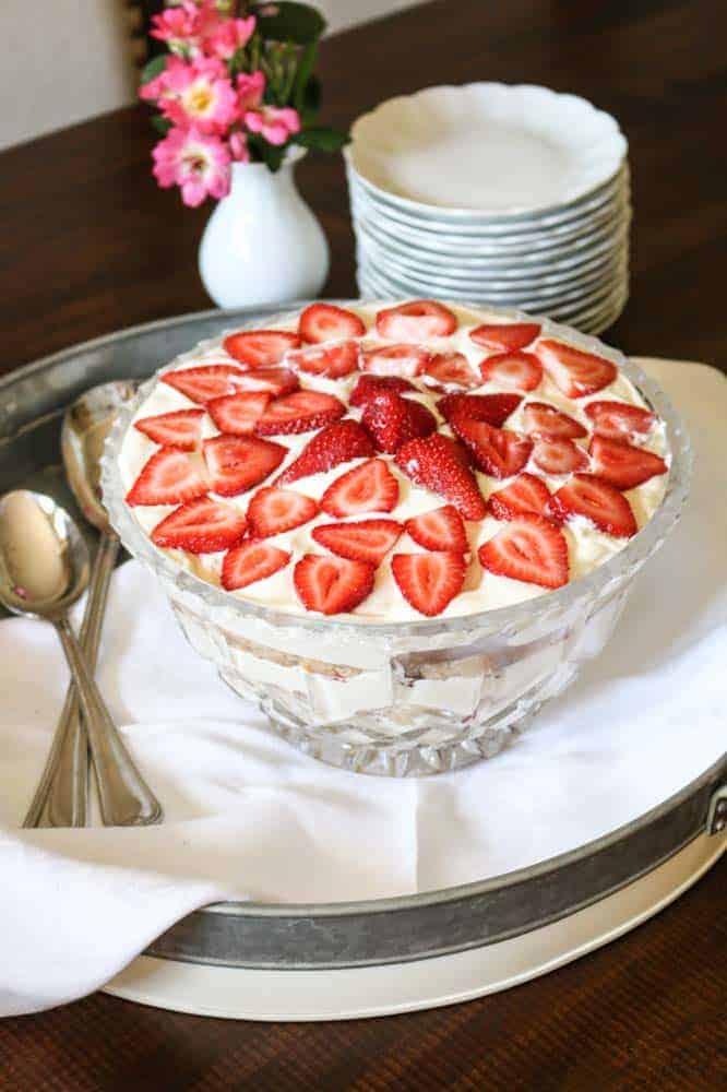 Strawberry Cream Shortcake Recipe