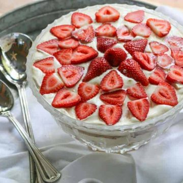 Strawberry Cream Shortcake Recipe