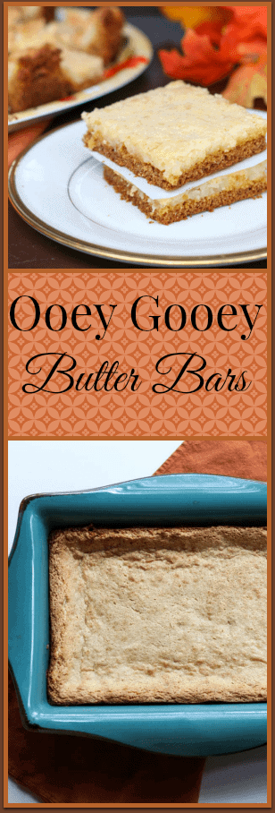 Ooey Gooey Butter Bars Recipe