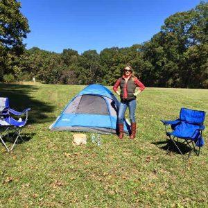Camping at Vanhoy Farms at Carolina Jubilee.