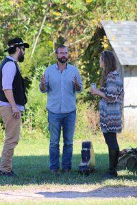 Zac Wyatt discussing Carolina Farm Trust