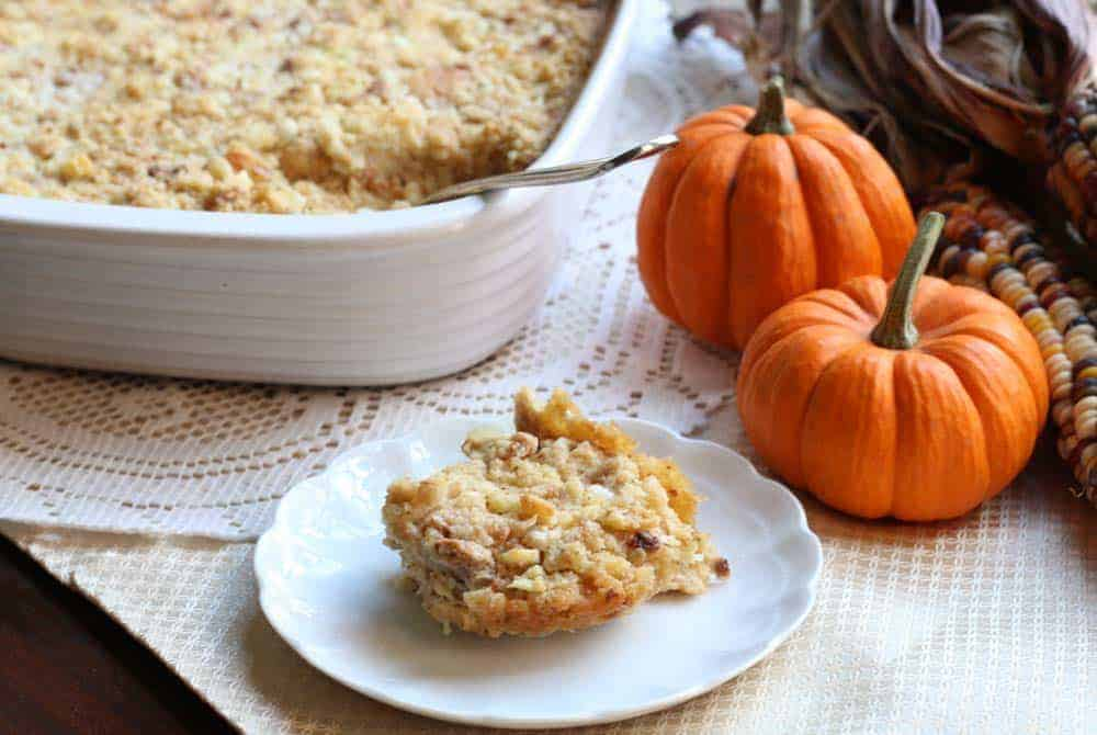 Granny Moore's Dressing, Southern Cornbread Dressing