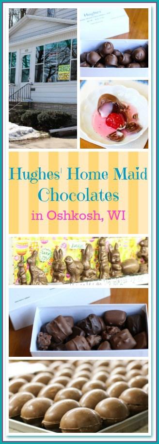 Hughes' Home Maid Chocolates in Oshkosh, WI