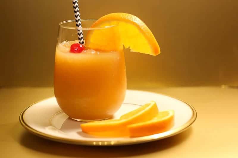 Bourbon Slush-(Frozen cocktail for parties)