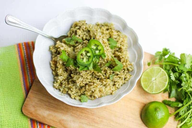 Jalapeño, Cilantro, Lime Brown Rice