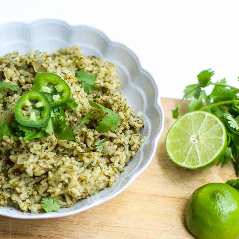 Jalapeño, Cilantro, Lime Brown Rice