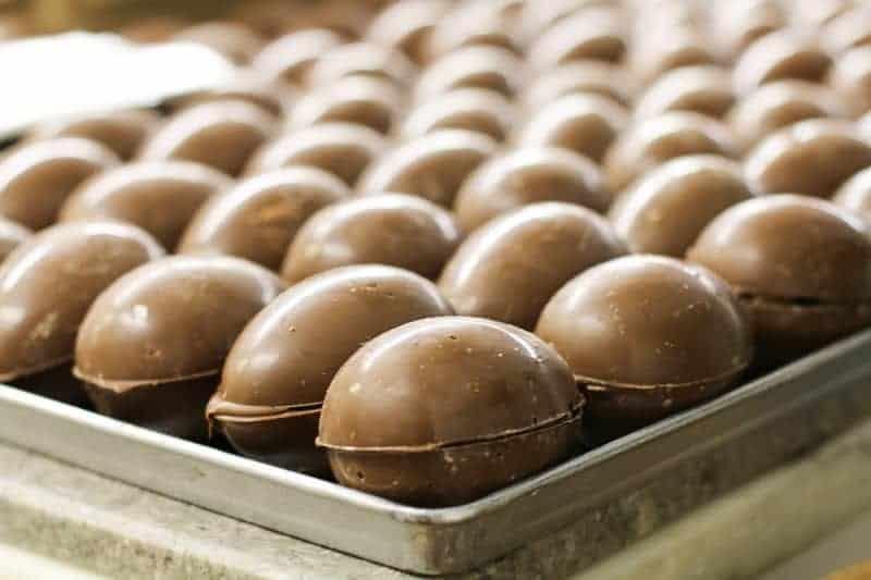 elly Bean Eggs from Hughes' Home Maid Chocolates