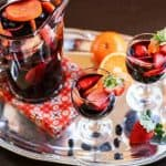 Pomegranate Red Wine Sangria