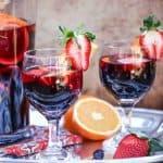 Pomegranate Red Wine Sangria