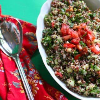 Healthy and Nutritious Quinoa Tabouli Recipe