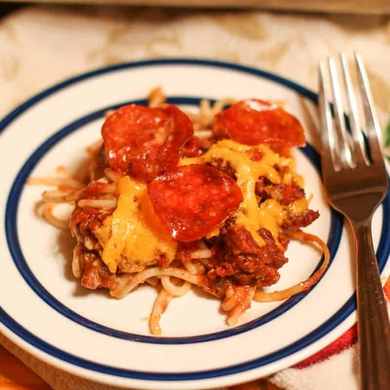 Southern Baked Spaghetti
