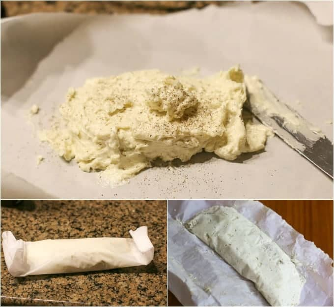 step by step how to make compound butter image