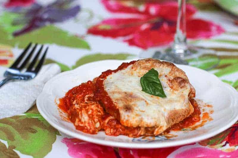Vegetarian Eggplant Lasagna Stacks-(easy eggplant recipe)