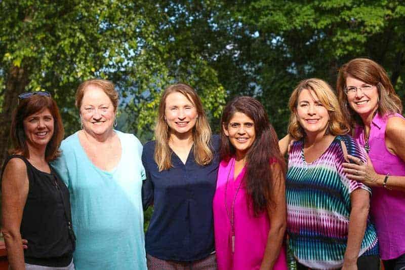 Kim, Aura Lee, Katie, Reshma, Alecia, and Dede