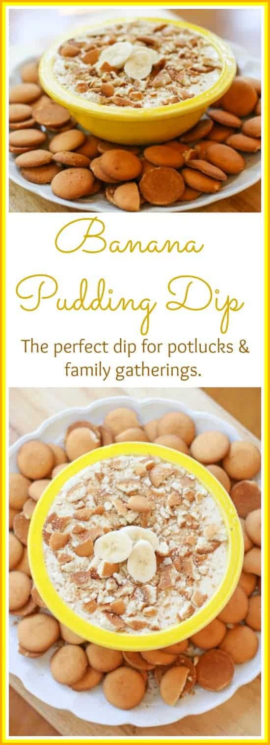 Everyone loves a good Banana Pudding, so why not make it into a dip? This Banana Pudding is sweet, easy, and delicious. It makes the perfect dip for your parties, potlucks, and family gatherings.