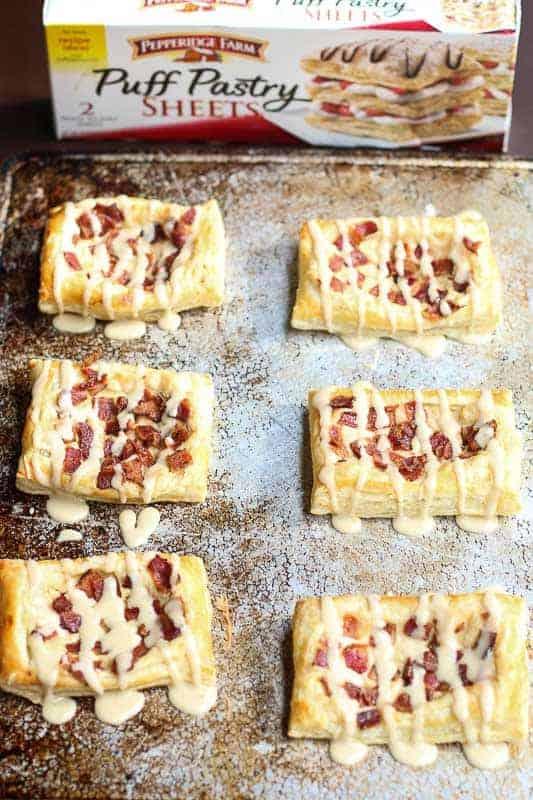 Bacon Cream Cheese Danish #ad