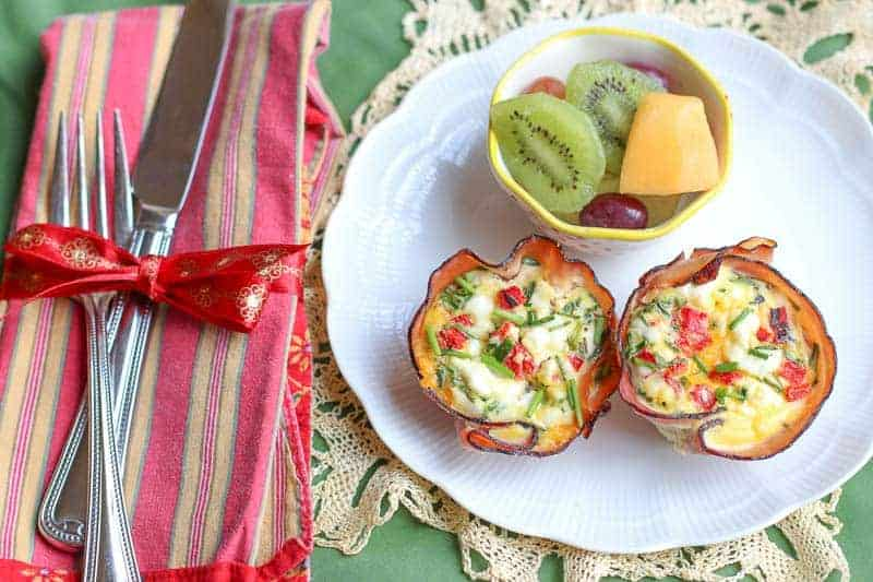 Ham, Egg, and Cheese Cups