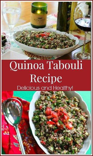 This Quinoa Tabouli recipe gives the traditional version a nutritional twist without sacrificing the incredible fresh flavor.