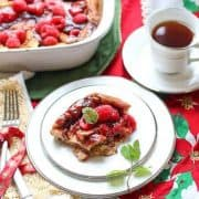 Make Ahead Raspberry French Toast