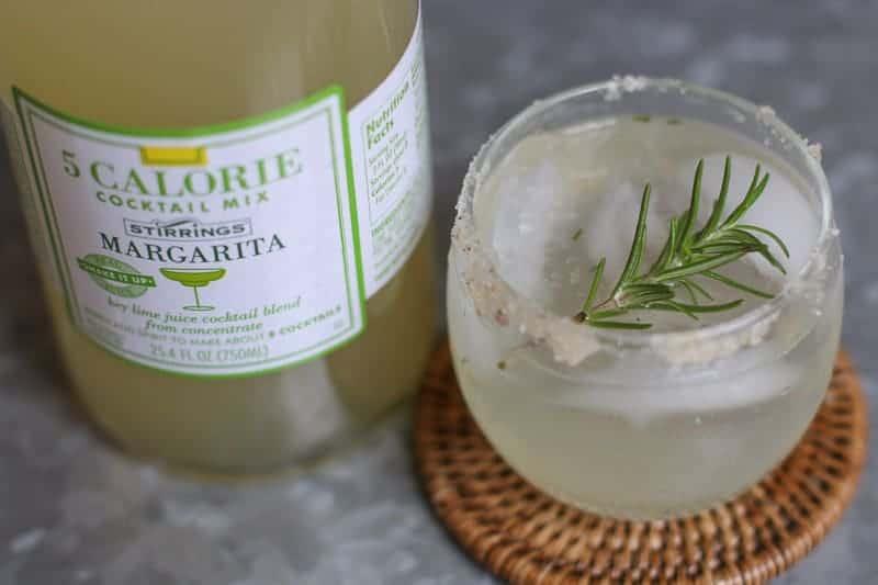 Skinny Citrus Rosemary Margarita