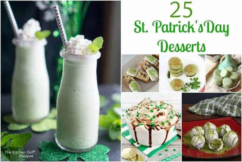 25 St Patrick's Day Desserts