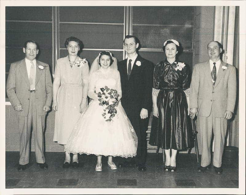 Danny & Lucy Mafredas, Mom, Dad, Marie and Frances Kriz