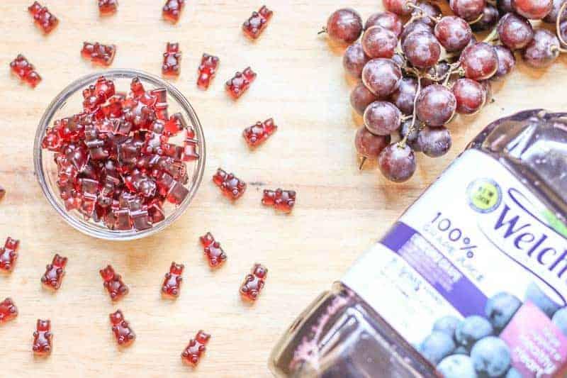 #ad Gummy Bear Fruit Snacks Recipe