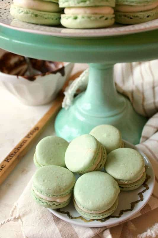 Irish Cream & Milk Chocolate French Macarons