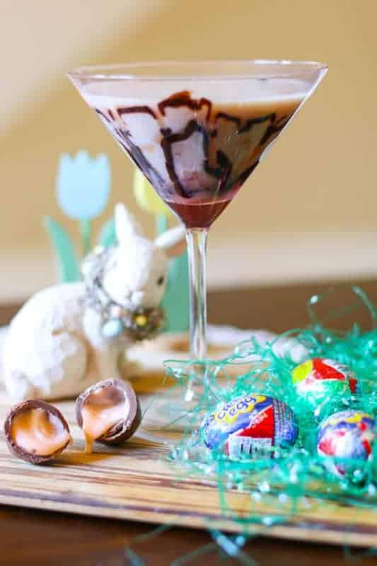 Easy Cadbury Creme Egg Martini Recipe