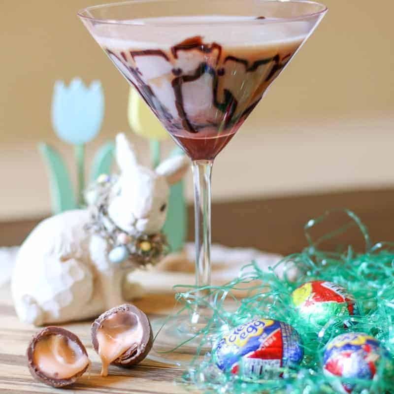 Cadbury Creme Egg Martini