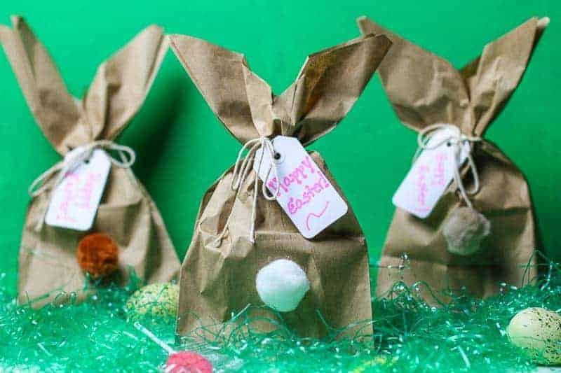 Easy diy easter bunny gift bags need a clever easy easter bunny craft idea how about making these fun easy negle Image collections