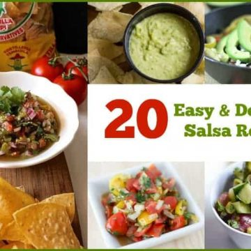 Salsa is the perfect condiment to make for almost any occasion. It is great to eat with chips or as a topping over eggs, potatoes, fish, steak, beans, or chicken! Here are 20 Easy and Delicious Salsa Recipe to create in your kitchen.