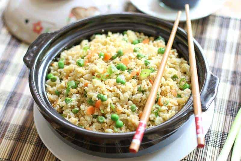 How to make cauliflower fried rice nice and easy a forks tale who doesnt love fried rice what if you can make a low carb ccuart Image collections