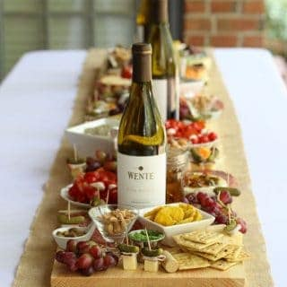 How to Make Antipasto Board Table Runner (Antipasti Platter)