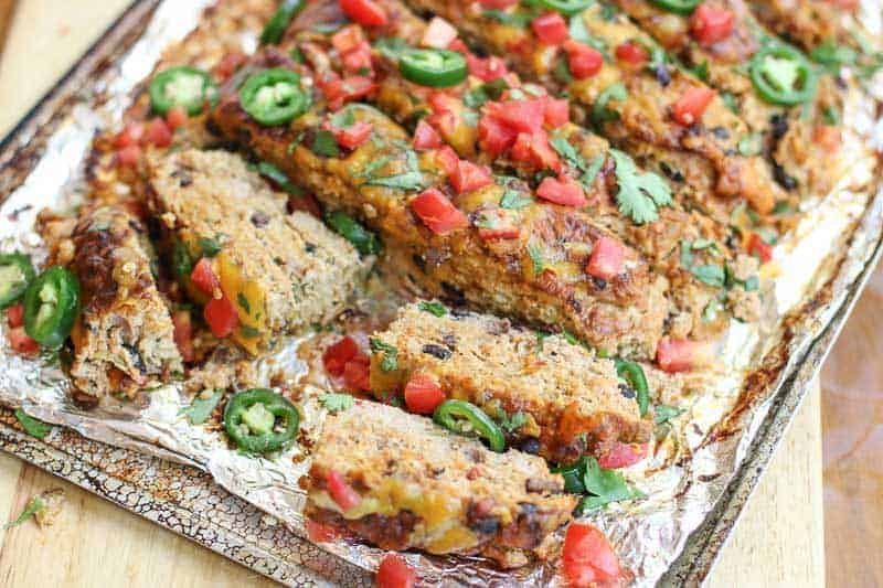 Mexican Turkey Meatloaf Recipe A Healthy Turkey Meatloaf
