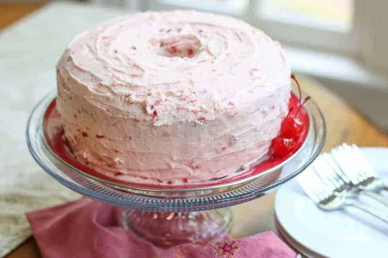 Pretty SouthernCheerwine Bundt Cake
