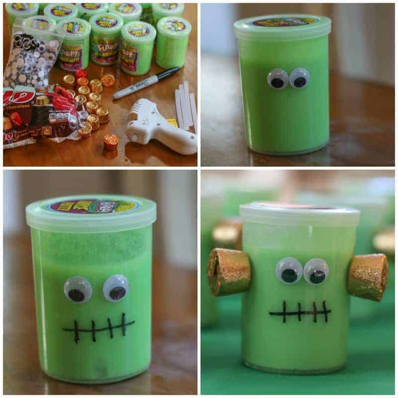 supplies for Frankenstein Halloween gifts