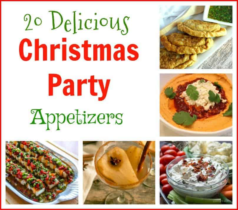 20 delicious christmas party appetizers