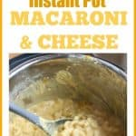 This Instant Pot Macaroni and Cheese tastes just like your grandma made it. It is deliciously cheesy and creamy. This easy #InstantPot #MacaroniAndCheese is cooked in just 10 minutes but tastes like the traditional baked version. It will be your new favorite Mac & Cheese recipe!